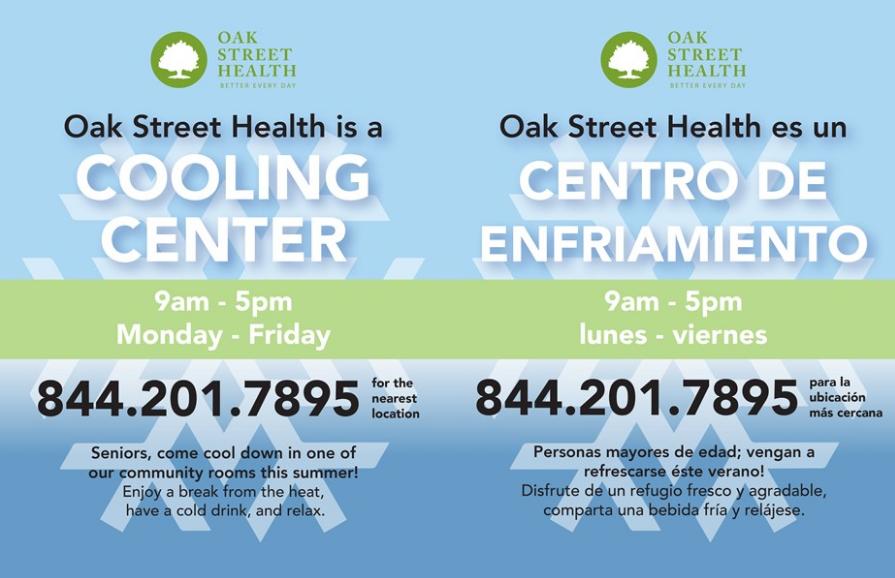 Cooling Center Information