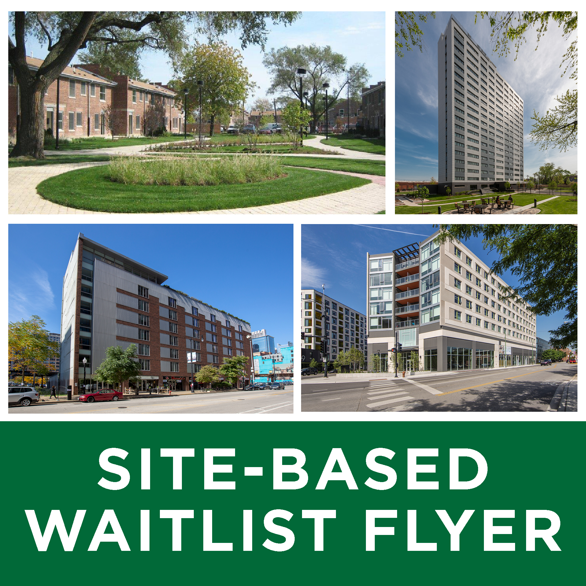 Waitlist flyer