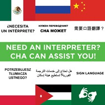 Need an Interpreter? CHA can help you