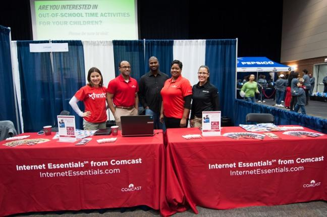Comcast Booth