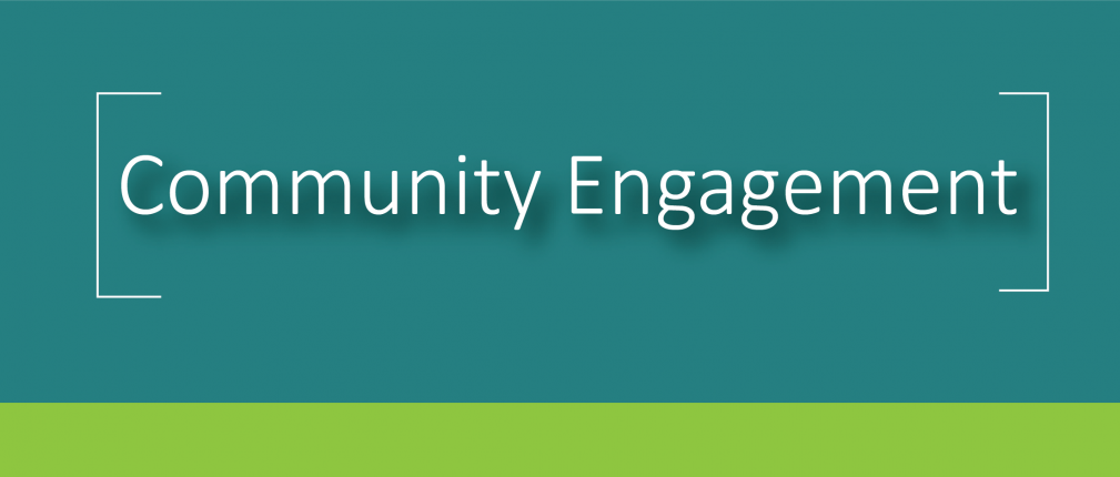 Community Engagement Banner 2021