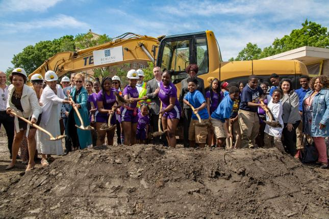 Groundbreaking of Williams Field House